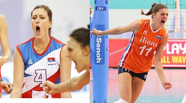 Avrupa Şampiyonası'nda Hollanda- Sırbistan finali!