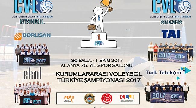CVL Türkiye Şampiyonası Alanya'da
