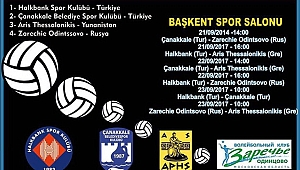 Halkbank'tan ikinci uluslararası turnuva