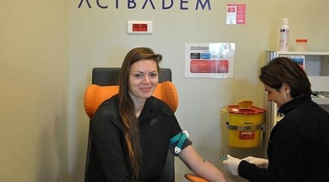 Maja Tokarska sağlık kontrolünden geçti.