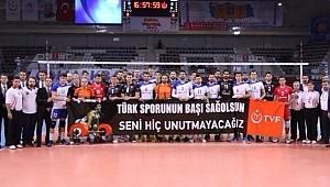 Voleybolcular, Naim Süleymanoğlu'nu unutmadı