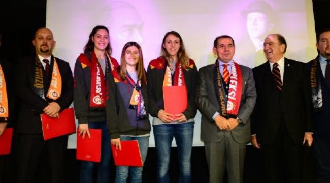 Galatasaray'ın milli gururlarına başarı beratı verildi