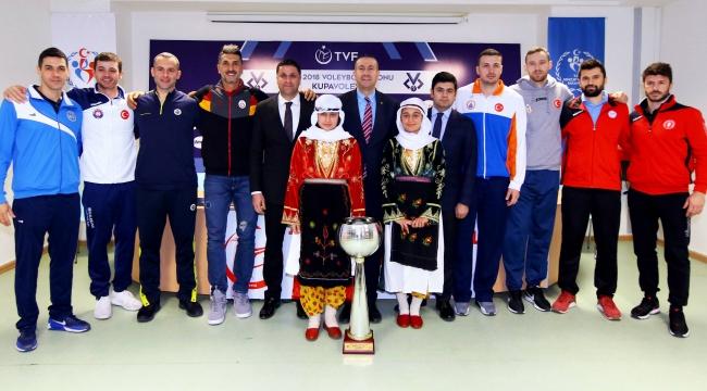 Kupa Voley Final Etabı programı belli oldu