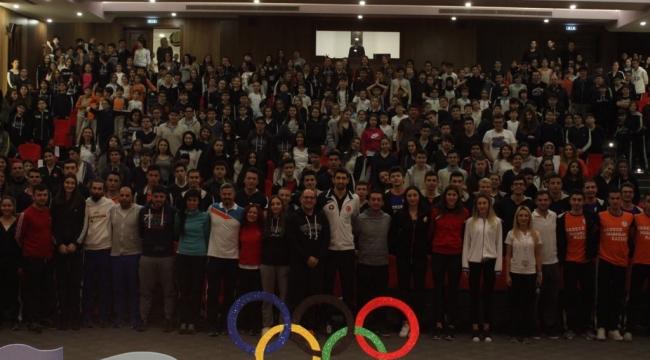 Okyanus Koleji'nde Geleneksel Spor Günü etkinliği