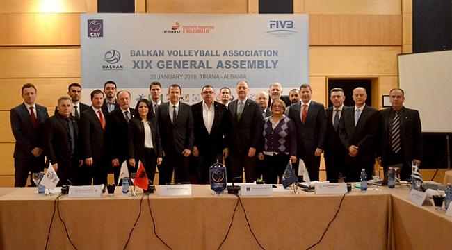 Balkan Voleybol Birliği 19. Genel Kurul Toplantısı Yapıldı