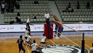 İstanbul Büyükşehir Belediyespor, Beşiktaş'a set vermedi