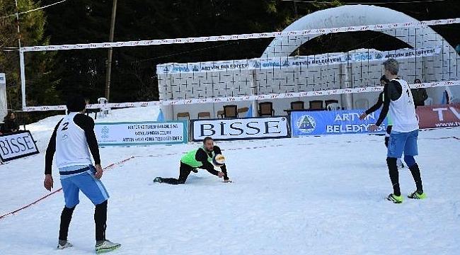 Kar Voleybolu şampiyonası sona erdi