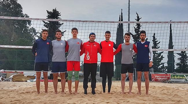 TVF Plaj Voleybolu 1. Altyapı Gelişim Kampı Sona Erdi