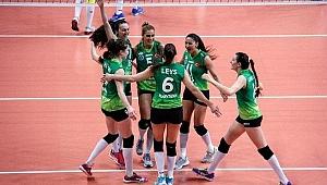 Bursa Büyükşehir Belediyespor, finale yükseldi!
