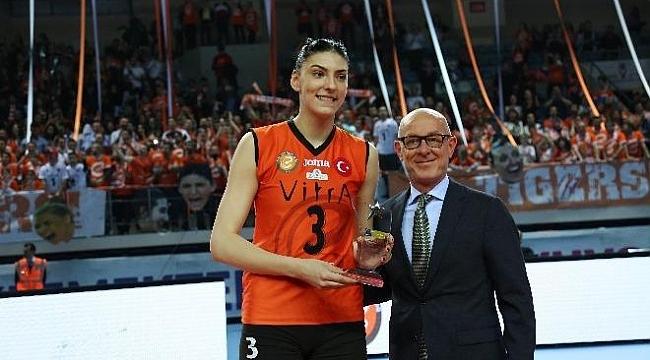 CEV Kupası'nın MVP'si Eczacıbaşı'ndan