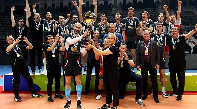 Ziraat Bankası CEV Kupası'nda şampiyonluğa ulaşamadı!