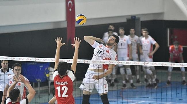 Genç Erkekler Türkiye Şampiyonası'nda 2. Gün Sona Erdi