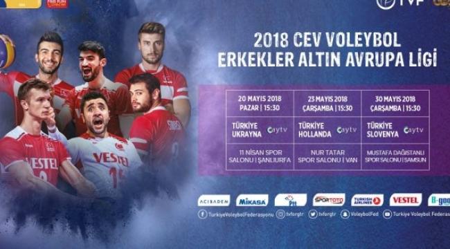 Türkiye, CEV Altın Avrupa Ligi'nde sahne alıyor