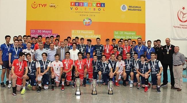 2018 Küçükler Altyapı Türkiye Şampiyonası Sona Erdi