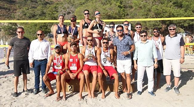2018 Pro Beach Tour Fethiye Etabı'nda Kupa ve Madalyalar Sahiplerini Buldu