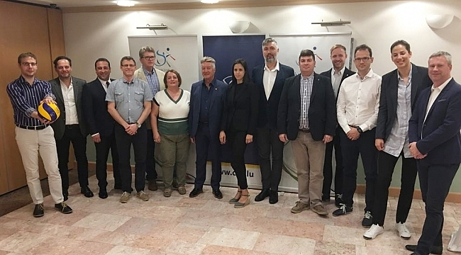 EuroVolley 2019 Hazırlık Toplantısı Macaristan'da Yapıldı