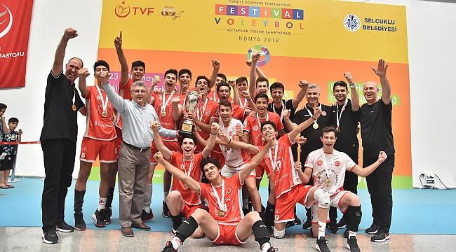 Ziraat Bankası'nın Küçükleri Namağlup Türkiye Şampiyonu