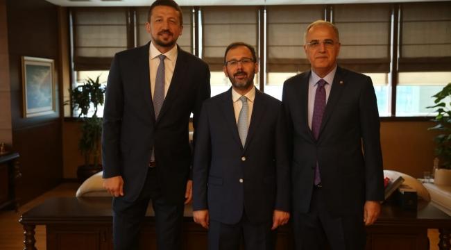 Başkan Üstündağ'dan, Bakanı Kasapoğlu'na Ziyaret