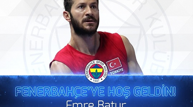 Emre Batur Fenerbahçe'de