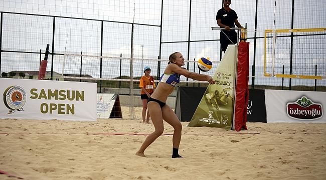 FIVB Dünya Turu 1 Yıldızlı Samsun Etabı'nda 2.Gün Sona Erdi