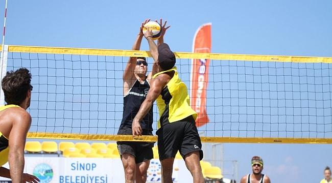 TVF Plaj Voleybolu Kulüpler Ligi Finalleri Başladı