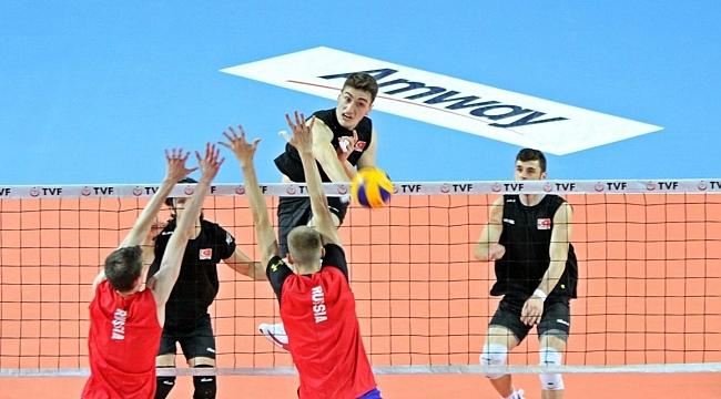 U20 Erkek Milli Takımımız, Rusya ile Hazırlık Maçı Oynadı