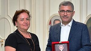 İVK'dan, Hilmi Türkmen'e Ziyaret