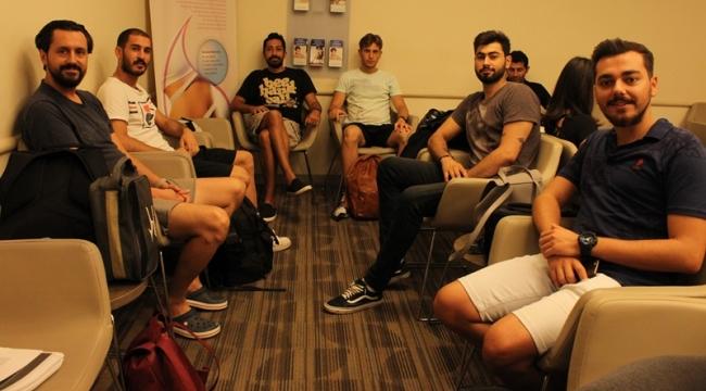 Sarıyer Belediyespor teknik ekibi sağlık kontrolünden geçti!