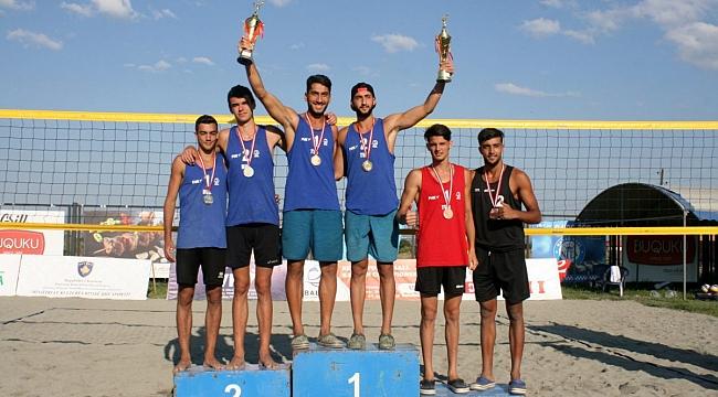 Yusuf ve Mustafa İkilisi, U20 Balkan Plaj Voleybolu Şampiyonu !