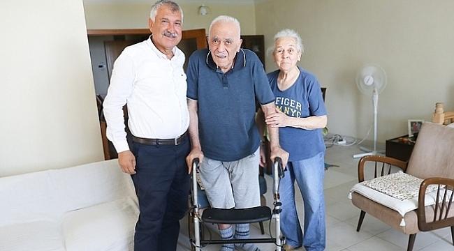 Zeydan Karalar, Nevzat Karazincir'i ziyaret etti