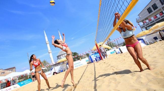 2018 BVA Balkan Beach Tour Nilüfer Etabı'nda 3. Gün Sona Erdi