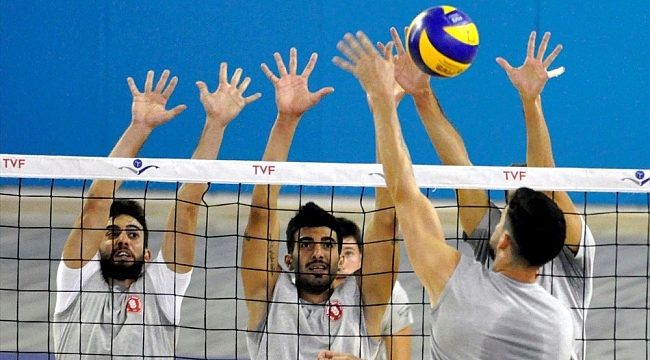 Afyon Bel. Yüntaş ile Ziraat Bankası hazırlık maçı yaptı