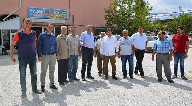 Antalya Sanayiye voleybol sahası