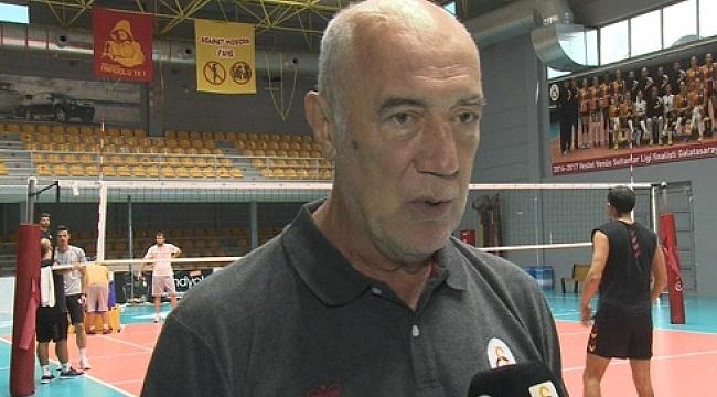 Galatasaray erkek takımı GS TV'ye konuştu