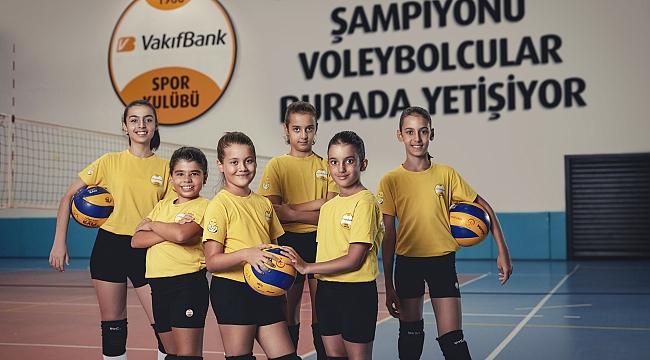 VakıfBank'tan üç yeni voleybol okulu