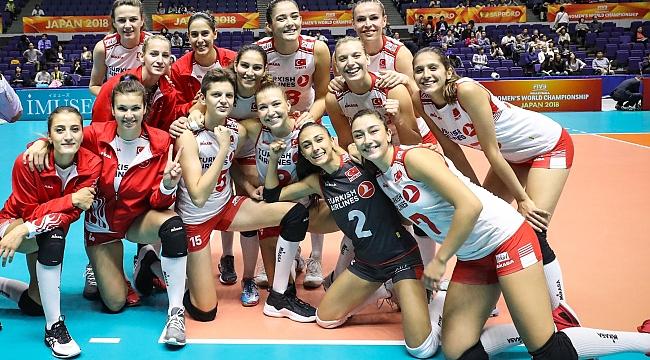 A Bayan Milli Takımımız, Dünya Şampiyonası'nda 2. Turda !