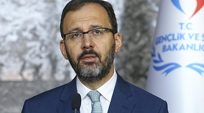 Bakan Kasapoğlu Halkbank'ı kutladı