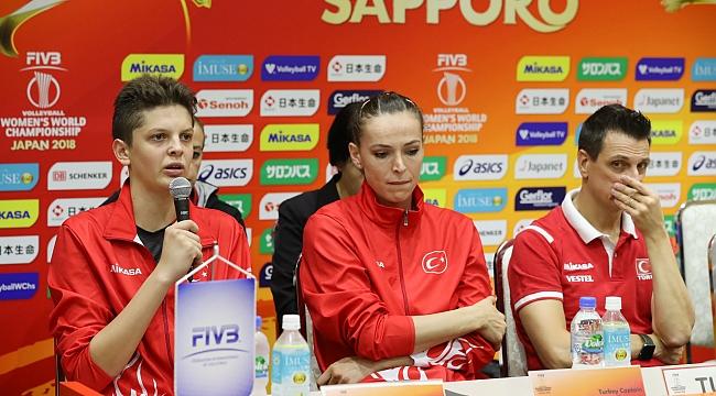 Eda, Ebrar ve Guidetti Çin Maçını Değerlendirdi