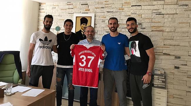 Akkuş Belediye Spor'dan Dr. Ateş Şendil'e Ziyaret