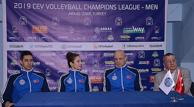 Arkas Spor, CEV Şampiyonlar Ligi'ne hazır
