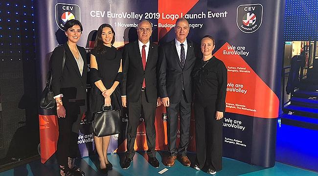 Başkan Üstündağ, 2019 EuroVolley Logo Tanıtım Lansmanına Katıldı