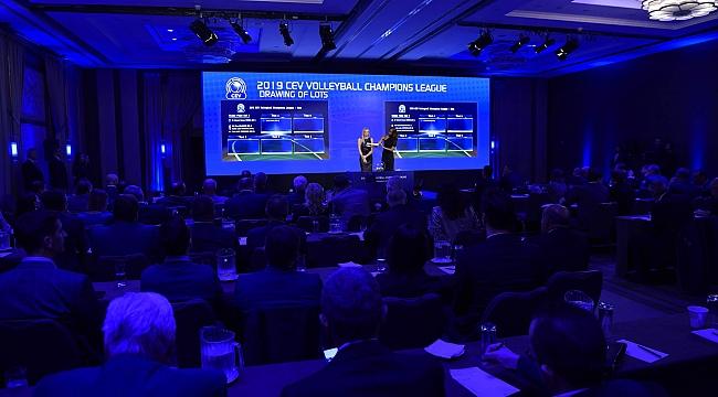CEV Şampiyonlar Ligi'ndeki Eşleşmeler Belli Oldu