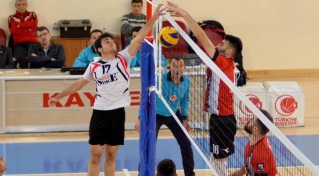 Çorum Belediye Gençlik Spor, Sahabiyespor'a set vermedi