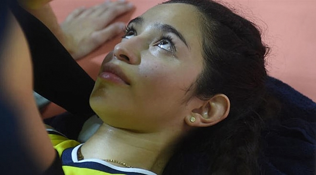 Fenerbahçeli voleybolcu korkuttu