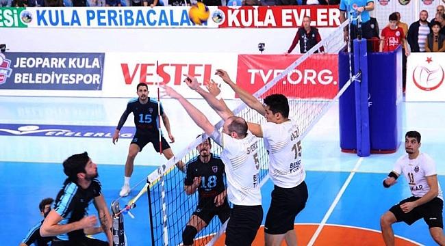 İkbal Afyon Belediye Yüntaş, Jeopark Kula Belediyespor'a set vermedi