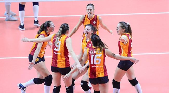 Galatasaray HDI Sigorta, 8'li Finaller Turu'na Yükseldi