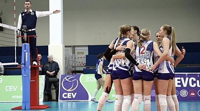 Galatasaray Rusya'da mağlup
