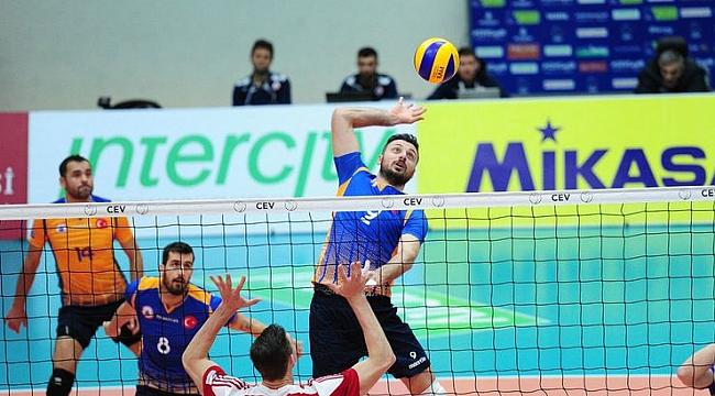 İstanbul Büyükşehir Belediyespor, Olympiakos'a mağlup oldu