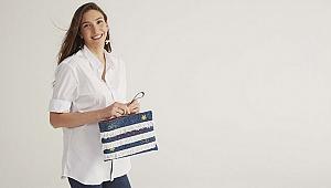 Naz Akyol,tasarımıyla HMFair Bag projesi lansmanında