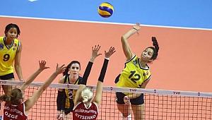 Nilüfer Belediyespor, Fenerbahçe'yi 5. sette geçti